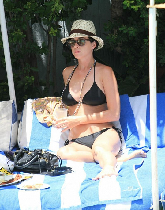 Katy Perry na Miami Beach.