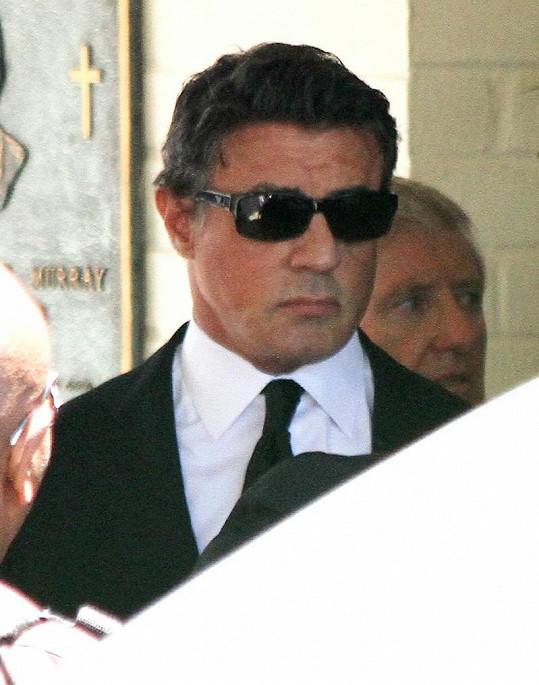 Sylvestra Stalloneho odchod syna velmi zasáhl.