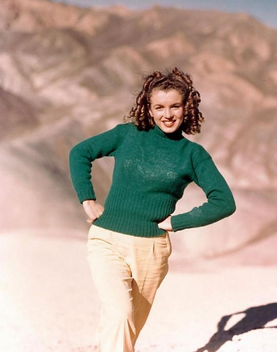 Mladinkou Marilyn ještě před filmy živil fotomodeling.
