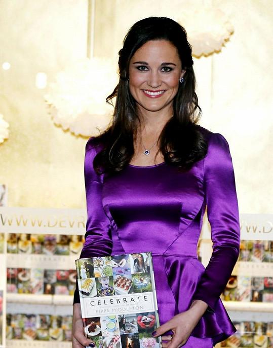 Pippa při propagaci své knihy v Holandsku.