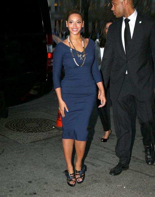 Beyoncé vypadala naprosto fantasticky.