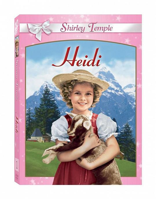 Malá Shirley jako Heidi ve stejnojmenném filmu.