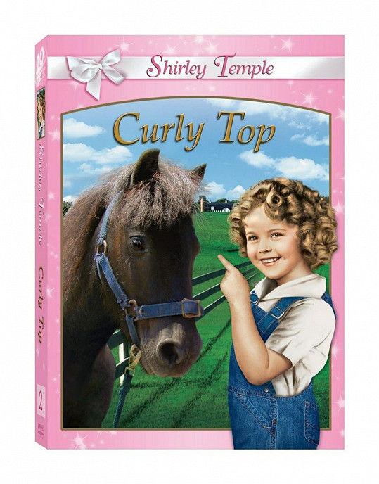 Shirley Temple ve filmu Curly Top.