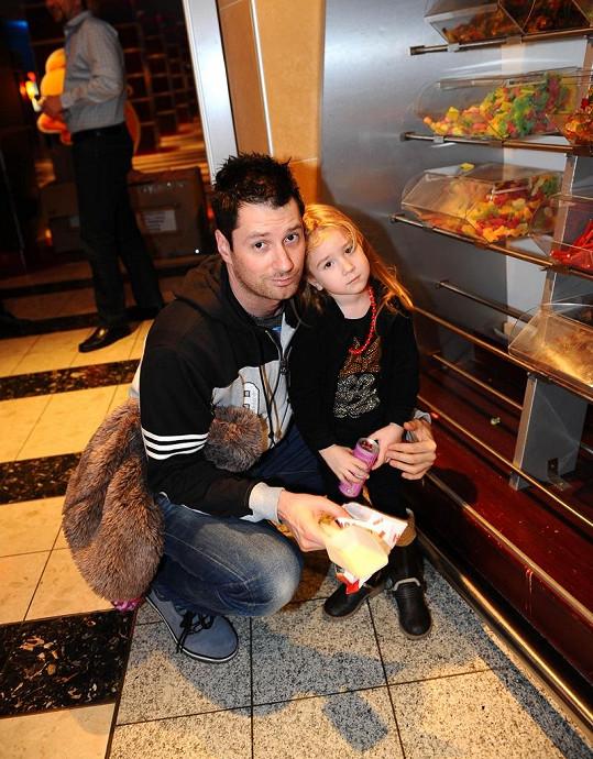 Petr Vágner s dcerou Lili.