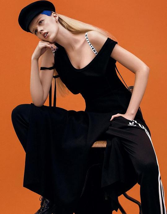 Měšťanová má za sebou například focení pro tchajwanskou mutaci Vogue.