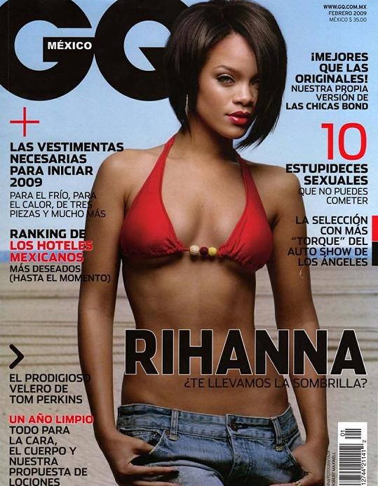 Zpěvačka zdobila mexickou verzi časopisu už v roce 2009.