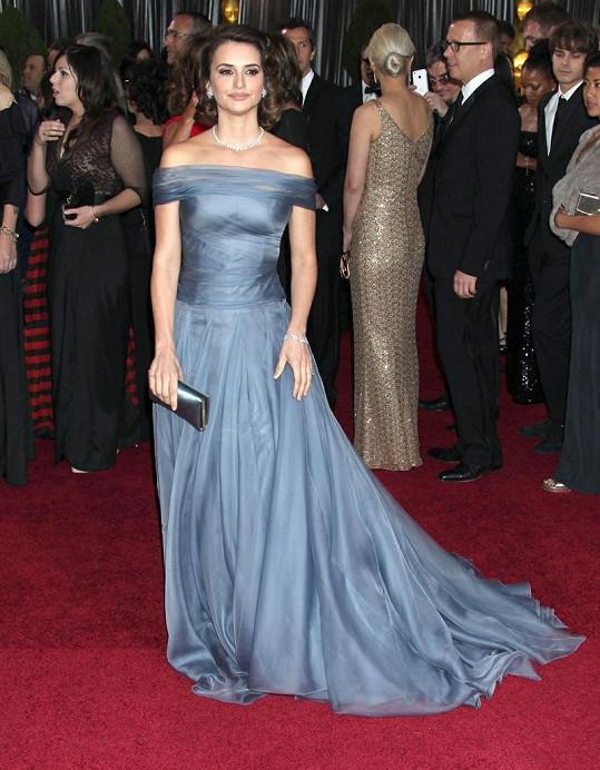 Herečka Penelope Cruz.