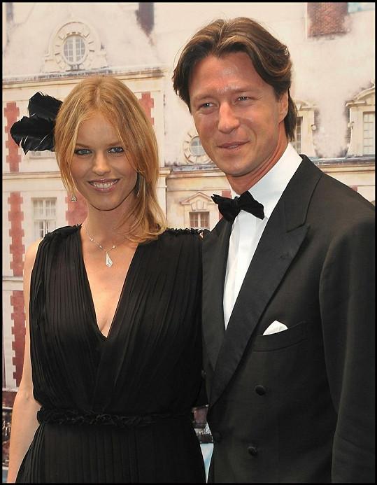 Eva Herzigová s přítelem Gregoriem.