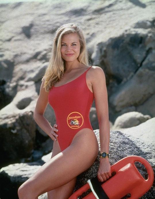 Brooke Burns jako Jessie Owens v seriálu Pobřežní hlídka.