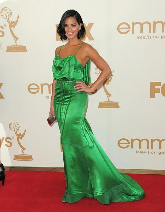 Olivia byla s Katie Holmes vyhlášena deníkem Daily Mail jako nejhůře oblečené ženy cen Emmy.