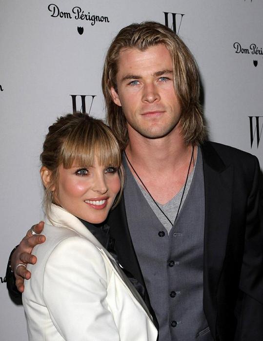Chris Hemsworth s manželkou Elsou Pataky.