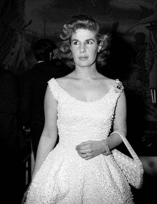 Vévodkyně z Alby v roce 1958.