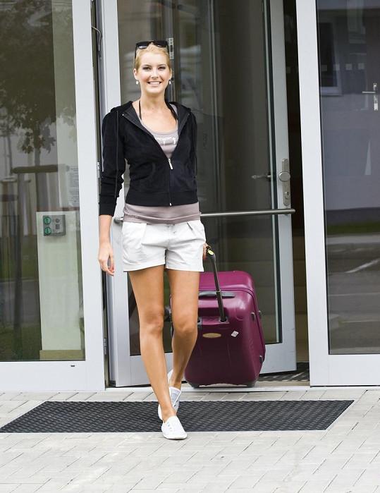 Jitka Nováčková odletěla na Miss Universe se dvěma kufry.