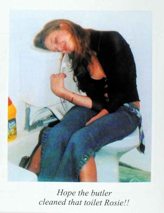 Rosie Huntington-Whiteley jako puberťačka v 15 letech.