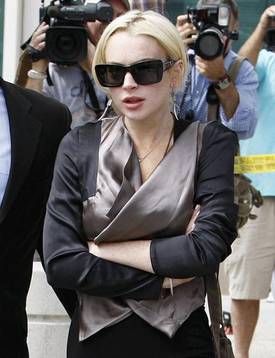 Lindsay Lohan má neustále problémy se zákonem.