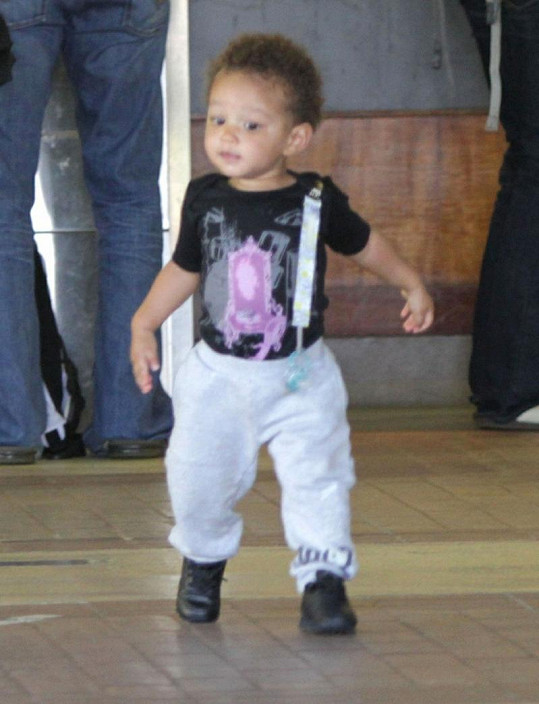 Roztomilý Egypt je synem zpěvačky Alicie Keys.
