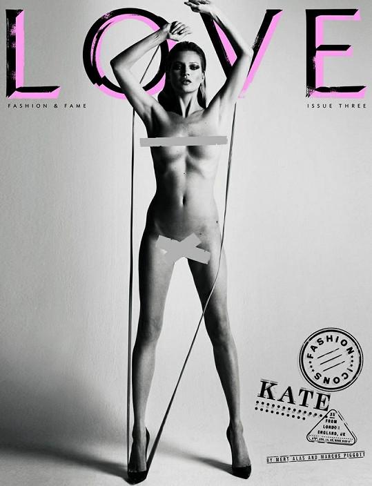 Rok 2010 a Kate opět na obálce...