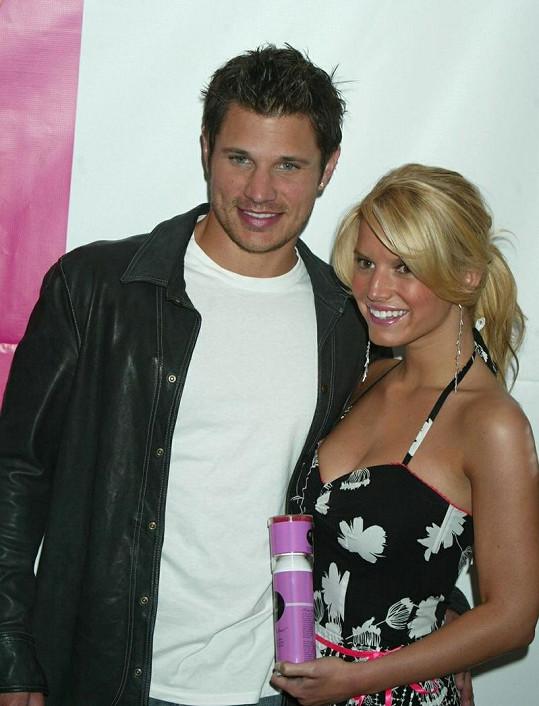 Nick a Jessica v době, kdy jejich manželství klapalo.