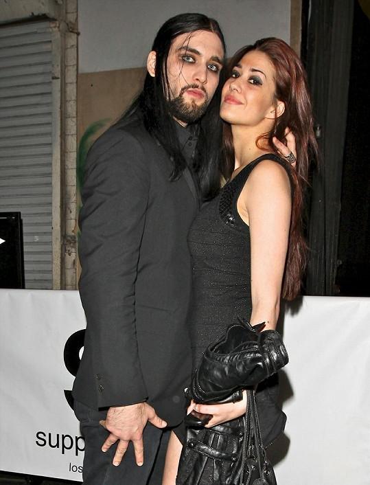 Weston s manželkou Nikki.