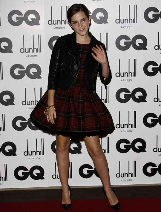 14. místo - Emma Watson.