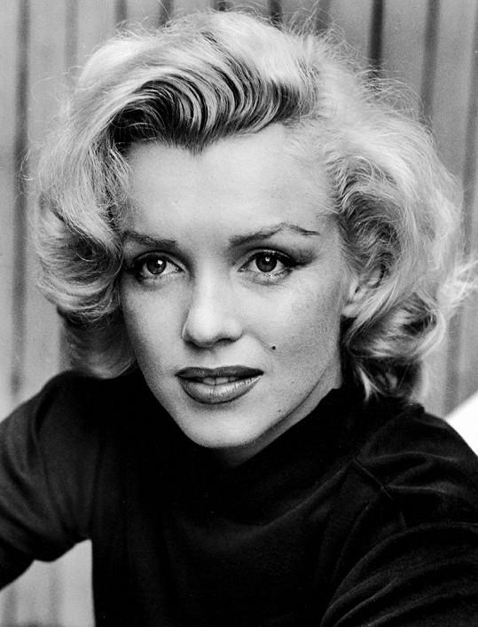Krásná Marilyn Monroe.