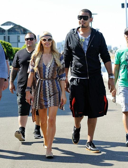 Paris Hilton a její nový přítel.