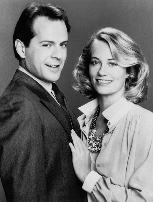Cybill Shepherd a Bruce Willis.