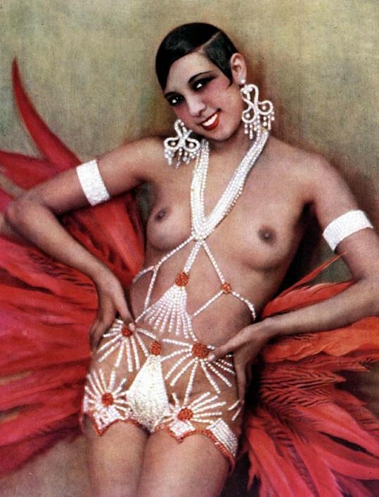 Josephine Baker - sexsymbol 20. let.
