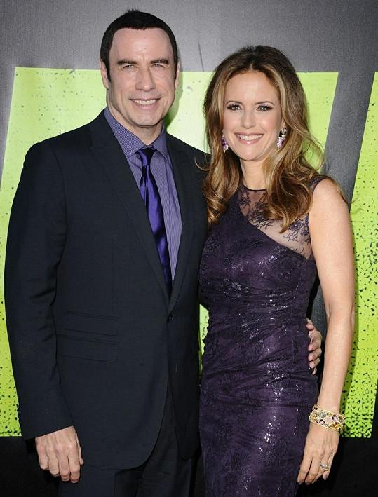 John Travolta a Kelly Preston jsou spolu přes dvacet let.
