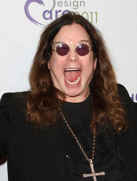Nastávající dědeček Ozzy Osbourne