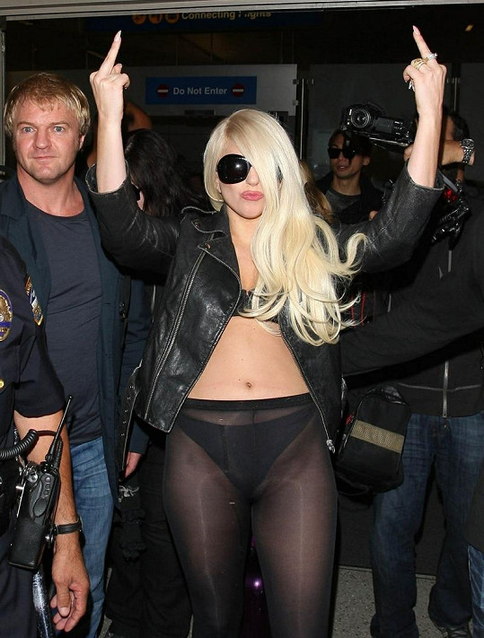 Lady Gaga se nebojí ukázat, když se jí něco nelíbí.