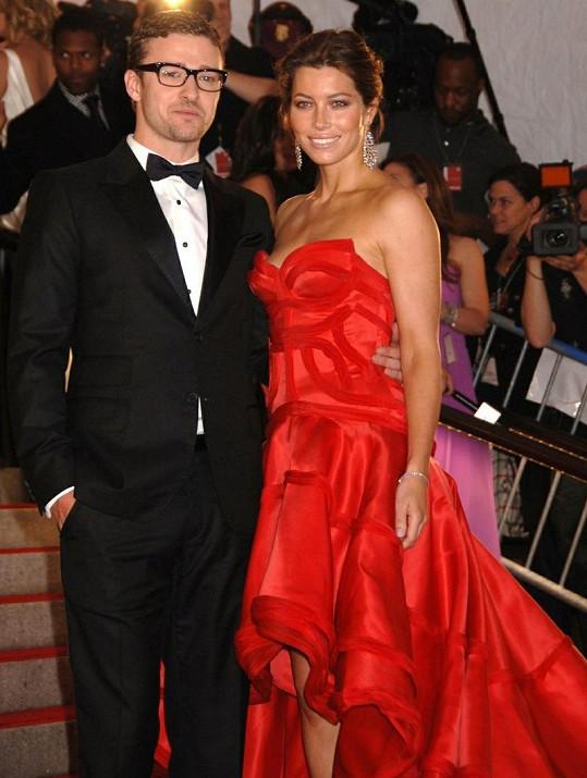 Justin a Jessica Timberlake.