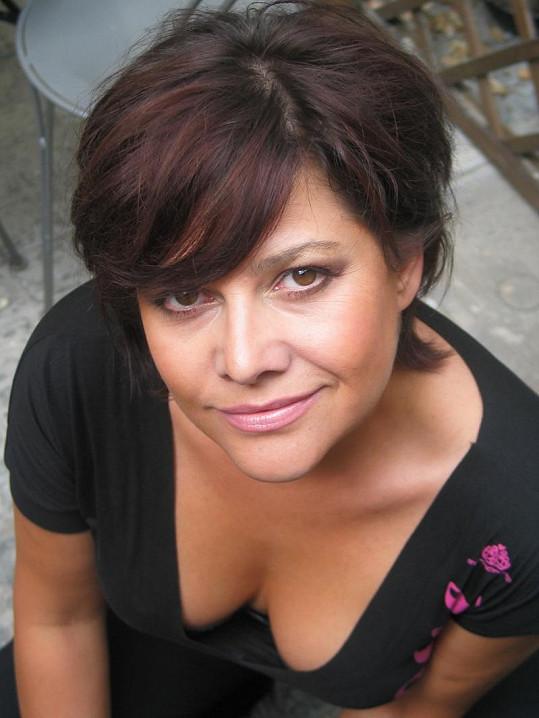 Ilona Csáková na archivní fotce.