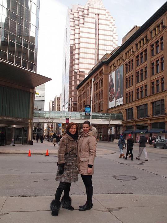 Beata Rajská dala přednost procházkám po Torontu s Katkou Smejkalovou.