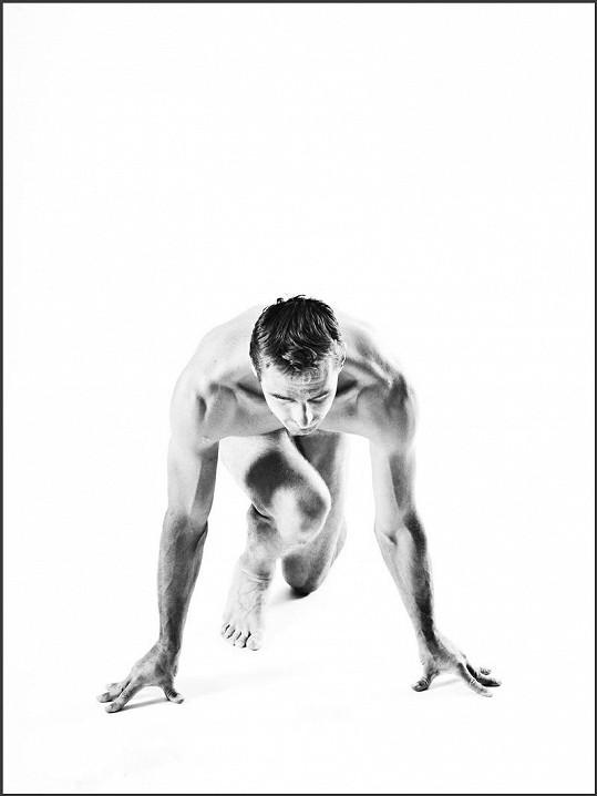Roman Šebrle už své tělo ukázal několikrát.