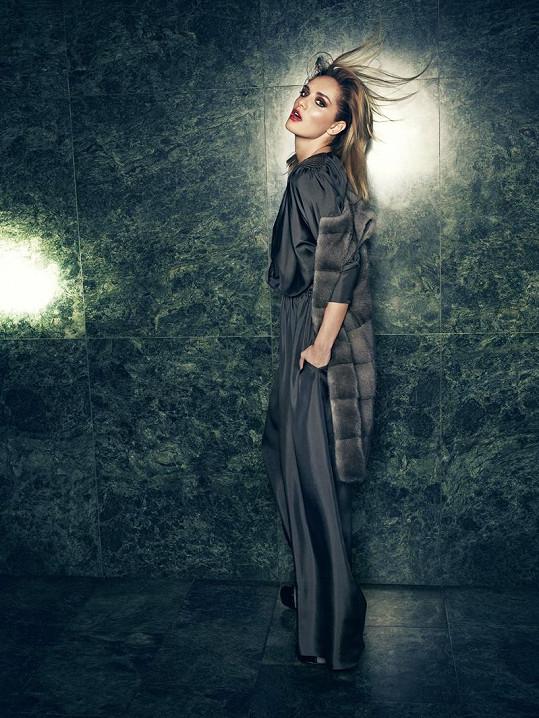 Taťána Kuchařová jako modelka pracuje především ve světě.