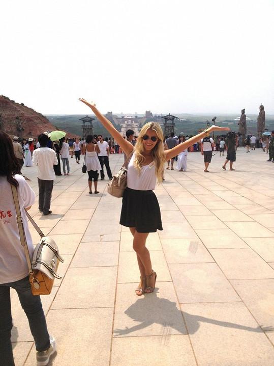 Největší zážitek? Pro Lindu to byl výlet do Šanghaje.