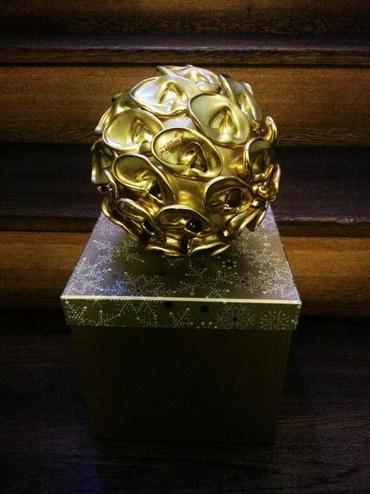 Tahle originální cena od designera Marka Mikovce bude mít už v sobotu svého majitele.
