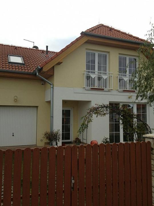 Dům rodiny Štikových je velmi pěkný.