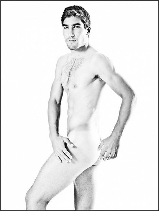 David Svoboda poprvé nahý.
