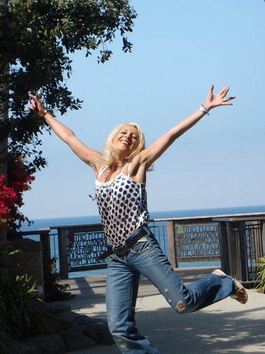 Mirjam v Laguna Beach.