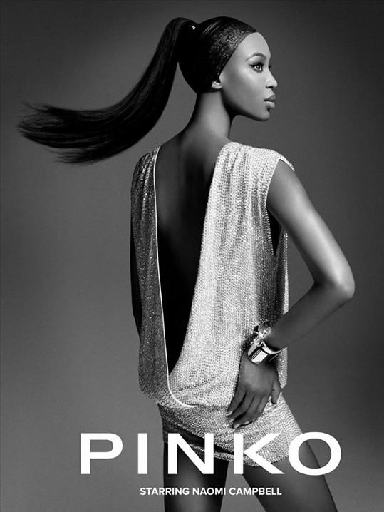 Naomi Campbell pro Pinko.