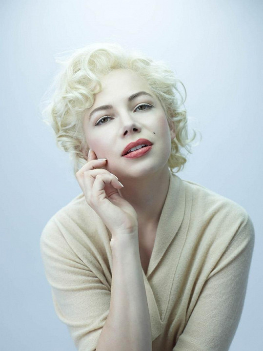 Marilyn Monroe v podání Michelle Williams.