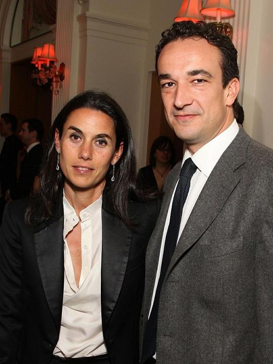 Olivier Sarkozy s bývalou ženou Charlotte.