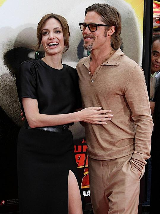 Brad Pitt a Angelina Jolie jsou dokonalý pár už šest let.