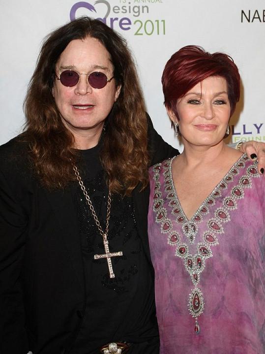 Muzikant Ozzy Osbourne s manželkou Sharon jsou prarodiči.