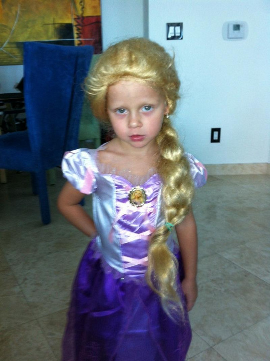 Salma je jako princezna rozkošná.