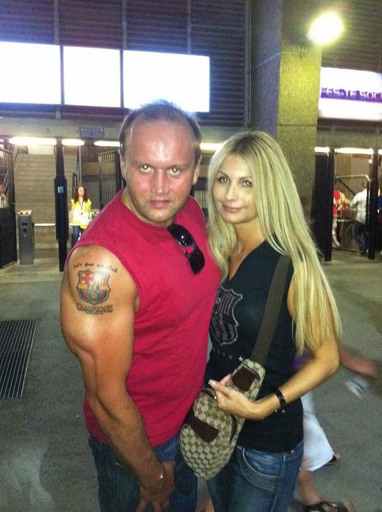 Marek Vít s přítelkyní Kateřinou si užívají nové lásky