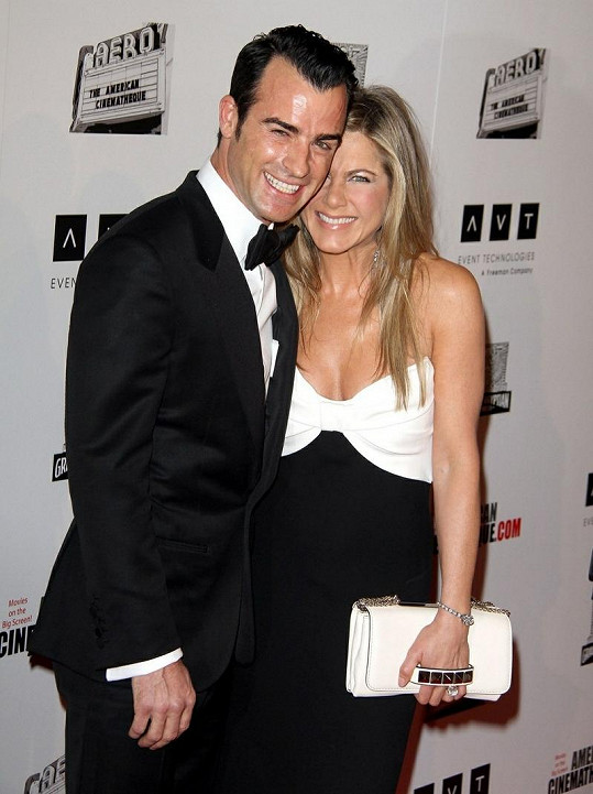 Jennifer Aniston a Justin Theroux jsou krásným párem.