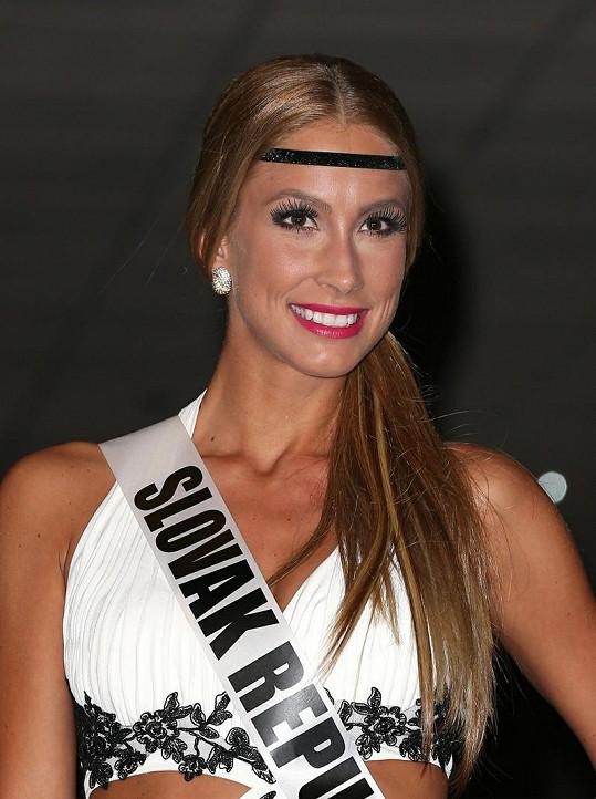 Miss Slovensko Ľubica Štepanová.